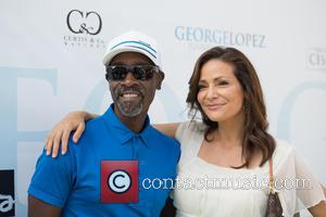 Don Cheadle and Constance Marie