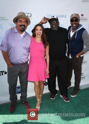 George Lopez, Eva Longoria, Cedric The Entertainer and Arsenio Hall