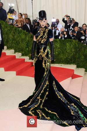 Katy Perry - Metropolitan Museum of Art Costume Institute Gala - Manus x Machina: Fashion in the Age of Technology...