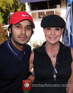 Kunal Nayyar and Paula Trickey