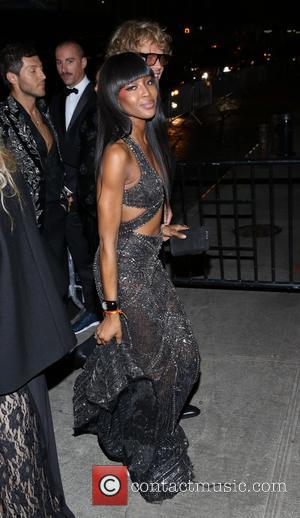 Naomi Campbell - Manus x Machina: Fashion In An Age Of Technology' Costume Institute Gala - After Party - New...
