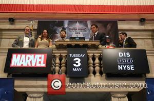 Chris Evans - Chris Evans, Robert Downey Jr. and Jeremy Renner, stars of Marvel's 'Avengers: Age of Ultron' joined Marvel...