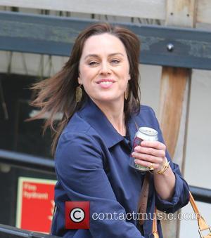 Jill Halfpenny - Jill Halfpenny outside ITV Studios - London, United Kingdom - Tuesday 3rd May 2016