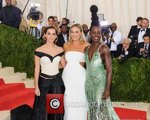 Emma Watson, Margot Robbie , Lupita Nyong'o - Metropolitan Museum of Art Costume Institute Gala: Manus x Machina: Fashion in...