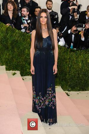 Katie Holmes - Metropolitan Museum of Art Costume Institute Gala: Manus x Machina: Fashion in the Age of Technology at...