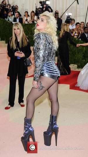 Lady Gaga - Metropolitan Museum of Art Costume Institute Gala: Manus x Machina: Fashion in the Age of Technology at...