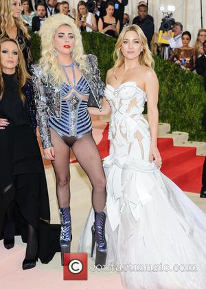 Allegra Versace, Lady Gaga and Kate Hudson