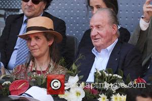 Rafael Nadal, Spain Juan Carlos and Princess Elena De Borbon