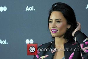 Demi Lovato - AOL NewFront 2016 At The Seaport District NYC - Red Carpet Arrivals - New York, New York,...