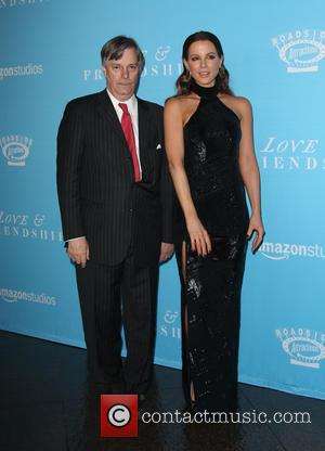 Whit Stillman and Kate Beckinsale