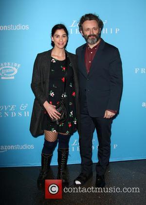 Sarah Silverman and Michael Sheen
