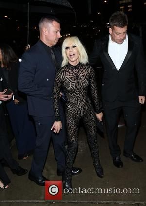 Donatella Versace - Manus x Machina: Fashion In An Age Of Technology' Costume Institute Gala - After Party - New...