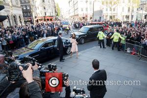 The Duchess of Cambridge , Kate Middleton - The Duchess of Cambridge visits the 100 Years of Vogue exhibition at...