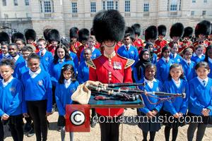 Guards and The Commonwealth Children's Choir