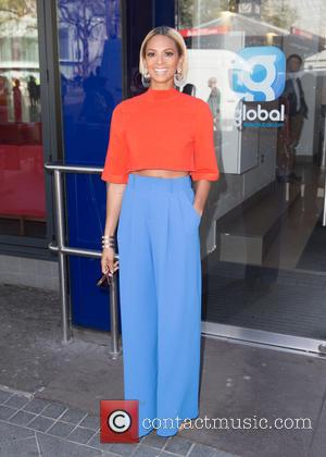 Alesha Dixon at Global House, Leicester Square