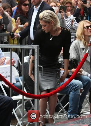 Kristen Stewart - Jodie Foster honoured with star on the Hollywood Walk Of Fame at On The Hollywood Walk Of...