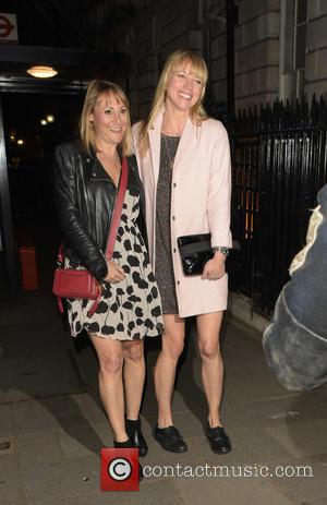 Sara Cox - Celebrities at Annabel's - London, United Kingdom - Wednesday 4th May 2016