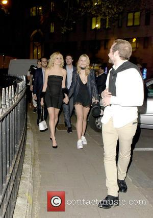 Pixie Lott - Celebrities at Annabel's - London, United Kingdom - Wednesday 4th May 2016