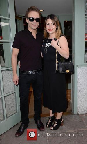 Jack P Shepherd and Lauren Shippey