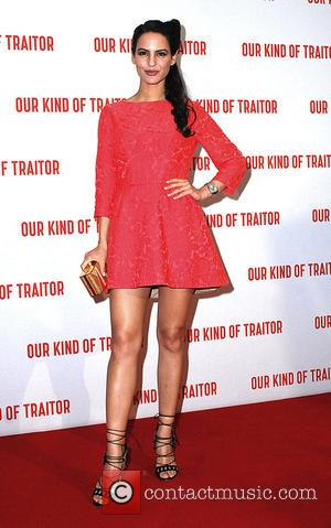 Jana Perez - Gala film screening of 'Our Kind Of Traitor' - Arrivals at Mayfair - London, United Kingdom -...