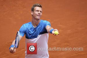 Tomas Berdych - Tomas Berdych in action against David Ferrer in their third round match on day 6 of the...