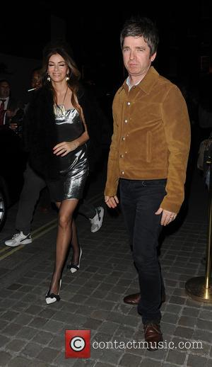 Noel Gallagher , Sara McDonald - Celebrities leaving The Chiltern Firehouse - London, United Kingdom - Thursday 5th May 2016