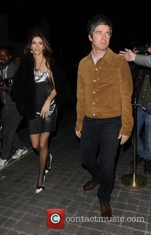Noel Gallagher and Sara Mcdonald