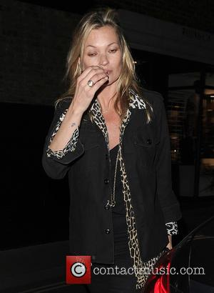 Kate Moss - Celebrities leaving The Chiltern Firehouse - London, United Kingdom - Thursday 5th May 2016