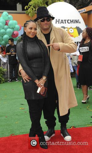 Mel B , Stephen Belafonte - Film Premiere of Angry Birds - Los Angeles, California, United States - Saturday 7th...