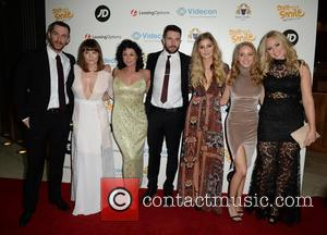 Antony Quinlan, Louise Marwood, Natalie Rob, Mike Parr, Sophie Powles, Eden Taylor-draper and Amy Walsh
