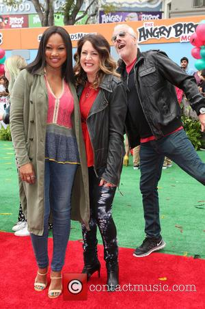 Garcelle Beauvais, Joely Fisher and Christopher Duddy