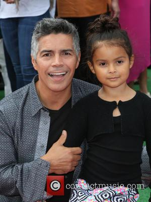 Esai Morales and Mariana Oliveira Morales