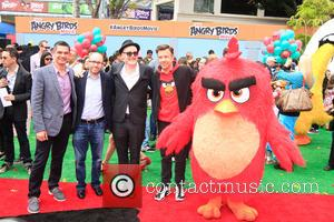Jason Sudeikis - Los Angeles premiere of 'Angry Birds' - Arrivals at Westwood Village - Los Angeles, California, United States...
