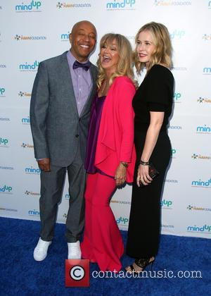 Russell Simmons, Goldie Hawn and Kate Hudson