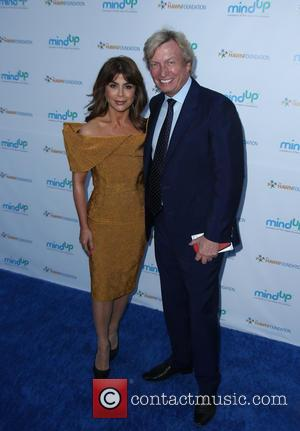 Paula Abdul and Nigel Lythgoe