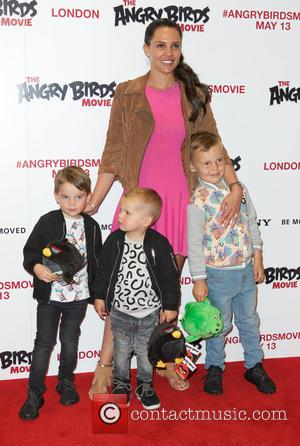 Danielle Lloyd - UK gala screening of 'Angry Birds' at Picturehouse Central - Arrivals at Picturehouse Central - London, United...