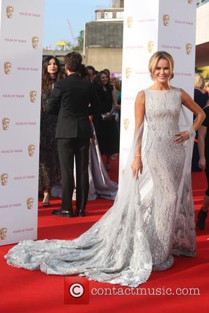 Amanda Holden - The British Academy Television Awards (BAFTAs) 2016 held at the Royal Festival Hall - Arrivals at Royal...
