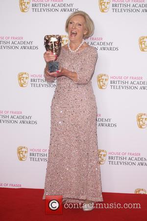 Mary Berry - The BAFTA TV Awards 2016 Winners Room at BAFTA - London, United Kingdom - Sunday 8th May...