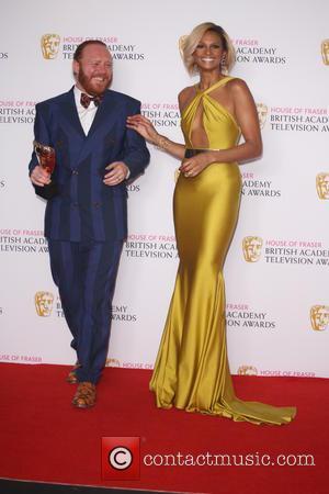 Leigh Francis and Alesha Dixon