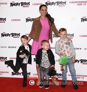 Danielle Lloyd - Gala Screening of The Angry Birds Movie at Picturehouse Central, London at Picturehouse Central - London, United...
