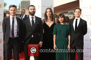 Aidan Turner , Heida Reed - The British Academy Television Awards (BAFTAs) 2016 held at the Royal Festival Hall -...