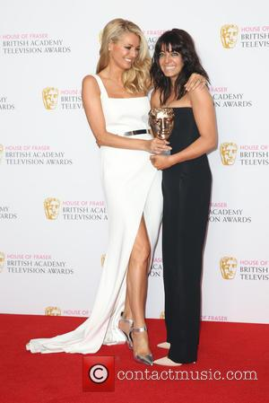 Tess Daly , Claudia Winkleman - The BAFTA TV Awards 2016 Winners Room at BAFTA - London, United Kingdom -...
