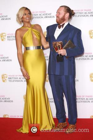 Alesha Dixon and Leigh Francis