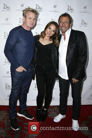 Gordon Ramsay, Tana Ramsay and Victor Drai
