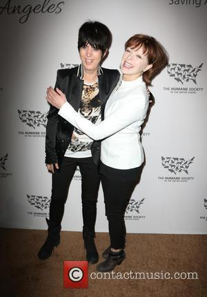 Diane Warren and Frances Fisher