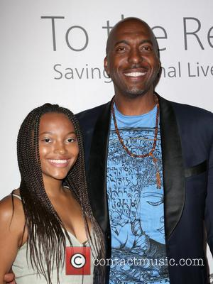 John Salley and Tyla Salley
