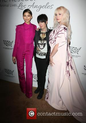 Zendaya, Diane Warren , Kesha - The Humane Society Of The United States' To The Rescue Gala at Paramount Studios...