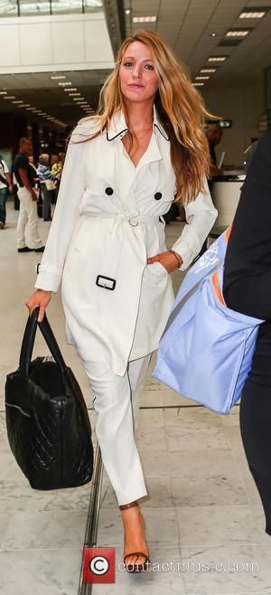 Blake Lively - Blake Lively arrives at Nice Cote D'Azure airport ahead of the 2016 Cannes Film Festival at Cannes...