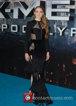Sophie Turner - The Global Fan Screening of 'X-Men Apocalypse' held at the BFI IMAX - Arrivals at BFI IMAX...