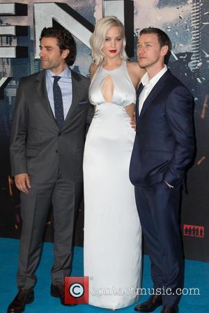 Jennifer Lawrence, Oscar Isaac and James Mcavoy
